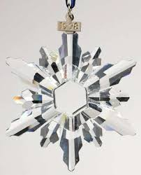 Annual Ornaments Snowflake 1998 Swarovski Annual Ornaments Pattern By Swarovski