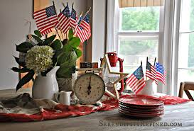 Red White Kitchen Red White And Blue Kitchen Decor Miserv