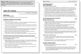click here to view this resume army to civilian resume examples