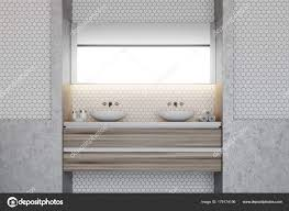 black mosaic tiles bathroom elongated hexagon backsplash honeycomb black and white tile hexagon shower tile