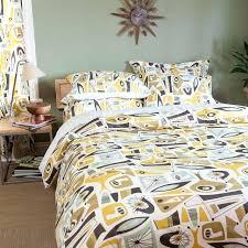 mid century modern duvet cover from sin in linen mid century modern comforter sets mid century modern duvet covers mid century modern bedding sets
