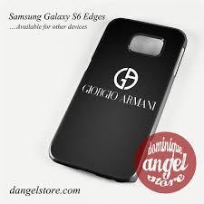 samsung galaxy s6 logo. giorgio armani black logo phone case for samsung galaxy s3/s4/s5/s6/s6 \u2013 dangelstore s6 i