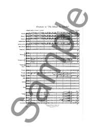 samuel barber overture to school for scandal study score   samuel barber overture to school for scandal study score