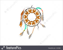Aboriginal Dream Catchers Image Of Aboriginal Dreamcatcher On White 32