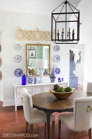 how to hang plates on a wall and make