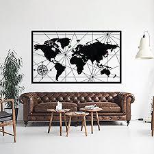 world map metal wall art decor handmade decorative world map wall art metal poster adventurer gifts on map wall art uk with world map metal wall art decor handmade decorative world map wall