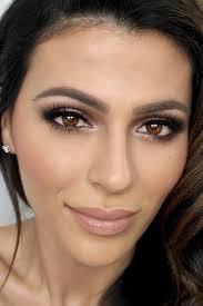 beautiful brown eye make up