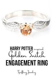 Golden Snitch Dream Catcher Golden Snitch Ring Harry Potter Engagement Ring Golden snitch 97