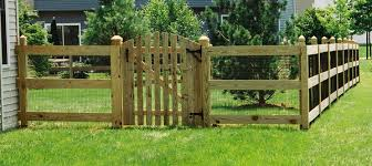 Pictures of wooden fences Gate Isom Fence Company Wood Fencing Wooden Fence Builders Md Dc Va Midatlantic