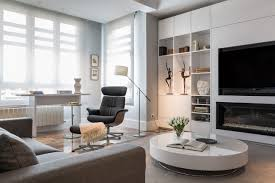Monochromatic Living Room Decor Zoning Living Rooms Multiple Functional Areas With Decor And Lighting