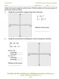 solving systems of equationsgraphing fun worksheet kidz activities with systems of equations activity worksheet