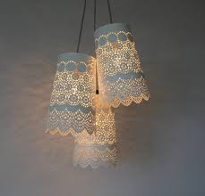 interesting do it yourself chandelier and lampshade ideas for your home 27