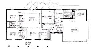 brilliant 2000 square foot house plans plan in decorating