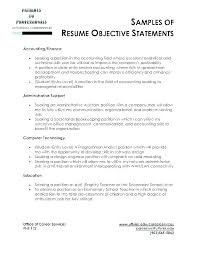 Possible Objectives For Resumes – Kappalab