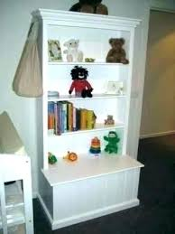 toy box with shelf bookshelf and bookcase combo wooden
