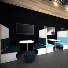 smart office interiors. Funky-technology-booths-smart-office-interior-design Smart Office Interiors I