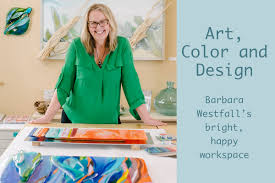 Westfall Design Studio Art Color And Design Barbara Westfalls Bright Happy