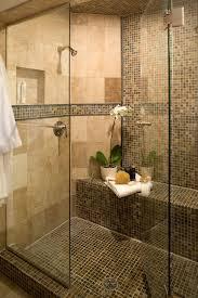 emser tile scottsdale with contemporary bathroom and floor tile glass shower door mosaic tile neutral colors niche orchid shower bench shower shelf shower