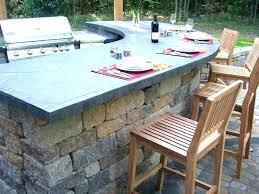 outdoor bar top ideas countertop s