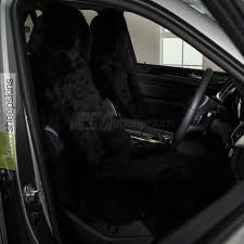 sheepskin seat cover for cars black color