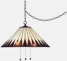 lamp home design trendy plug in swag lamps chandeliers hanging