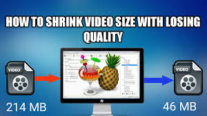 how to shrink video size how to shrink video size without losing quality youtube