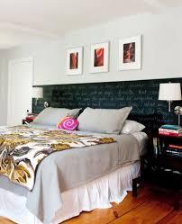 small bedroom decorating ideas on a budget. Beautiful Small Chalkboard Paint Headboard Small Bedroom Decorating Ideas On  Easy And Cheap Tips In A Budget S