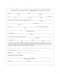 Medical Release Form For Grandparents Medical Consent Form For Grandparents Child Release Printable Free