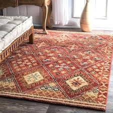 southwest rug southwestern tribal diamonds trellis border rust rug southwest area rugs tucson az