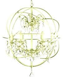 white company glass orb chandelier unbelievable antique
