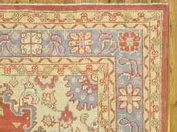 turkish antique oushak carpet handmade oriental rug c and light blue fine rug for