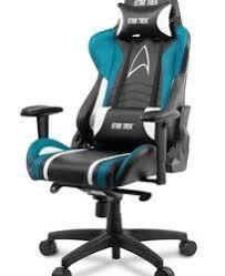 Купить <b>Кресло</b> офисное <b>Arozzi Gaming</b> Star Trek Edition синий по ...