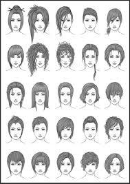 Women Hair Style Names womens hair set 4 by darksheikahdeviantart on deviantart 8590 by wearticles.com