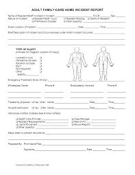 Incident Report Sample In Nursing Under Fontanacountryinn Com
