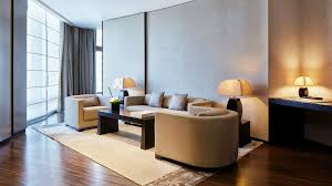 Armani Executive Suite Living Room