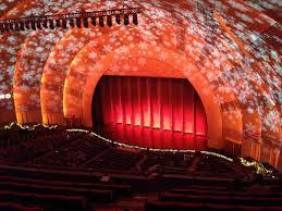 Radio City Music Hall Section 3rd Mezzanine 1 Row H Seat
