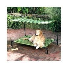best elevated dog bed elevated outdoor dog bed pet sun shade dog bed canopy portable elevated