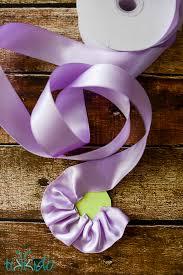Paper Ribbon Flower Ruffled Ribbon Rose Spring Gift Wrap Tutorial Tikkido Com