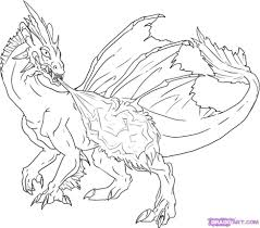 Fire Breathing Dragon Colouring Pages Grumpy Cat Pinterest Printable Fire Breathing Dragon Coloring Pages L