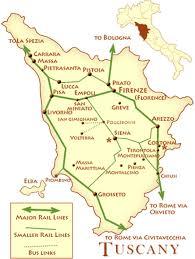 tuscany rail map free printable map of tuscany trials ireland on paris map printable