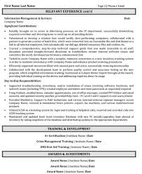help desk resume samples