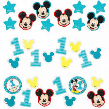 lovely mickey mouse high chair decorations