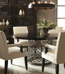 elegant dinner table pinterest. this round dining table features a hand-hammered metal base with smooth top elegant dinner pinterest