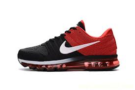 nike running shoes red and white. cheap c sale - discount nike air max 2017 men black red white shoes clearance running and d