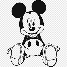 Mickey mouse minnie mouse pluto donald pato, mickey, blanco, carnivoran,  monocromo png