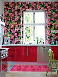 Small Picture Wallpaper and fabrics with floral pattern for decoration in