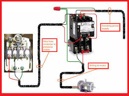 three phase contactor wiring diagram electricos pinterest third Single Phase Contactor Wiring Diagram single phase motor contactor wiring electrical mechanics pics single phase 2 pole contactor wiring diagram