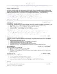 Resume Administrative Assistant Horsh Beirut