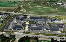 google main office location. Mock Up Of Solar System On Google Campus Main Office Location E