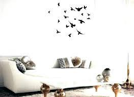flying birds wall art decor away wooden